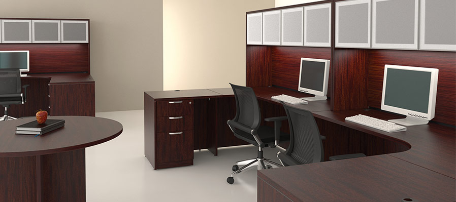 ... Friant Gitana Laminate Used In Open Offices !