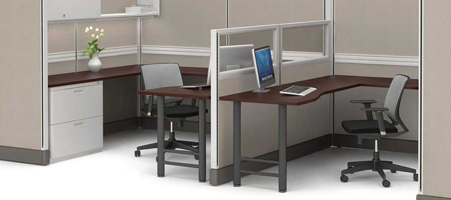 Friant System 2 Team Cubicle