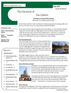 Newsletter 1505 Cvr